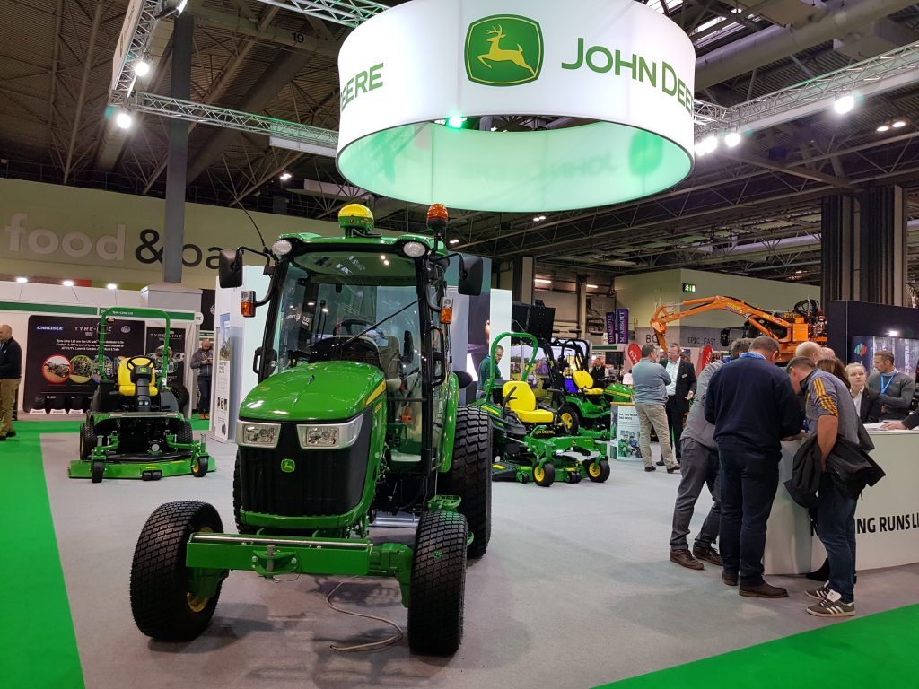 John Deere Tractor on display at SALTEX 2019